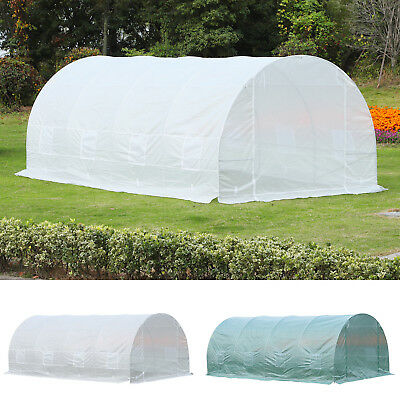 Outsunny 20x10x7ft Heavy Duty Walk-in Greenhouse Outdoor Plant Vegetables Grow