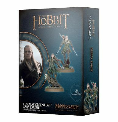 Warhammer Hobbit Legolas Greenleaf and Tauriel The Lord of the Rings plastic new