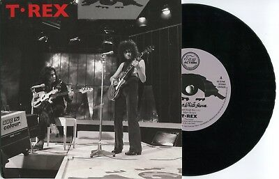 """Marc Bolan /t.rex : Ride A White Swan 7"""" (Alt Version) : Sleeve 1 In Series Of 4"""