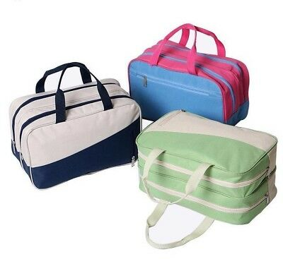 Bag Waterproof Cosmetic Travel Makeup Pouch Case Wash Toiletry Organizer Storage