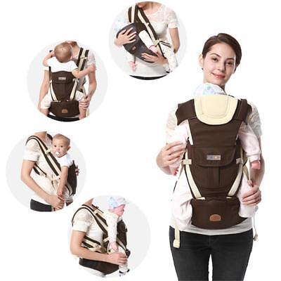NEW Ergonomic Baby Carrier Backpack Strong Breathable Adjustable Infant Newborn