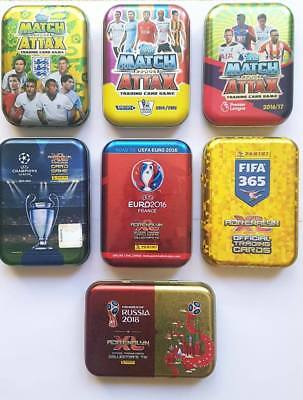 Panini Adrenalyn XL and Topps Match Attax Collector Tins