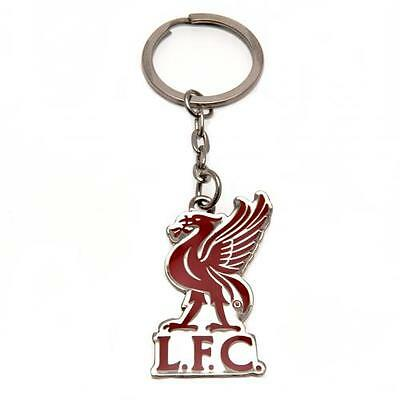 Liverpool FC Official Metal Crest Keyring Brand New