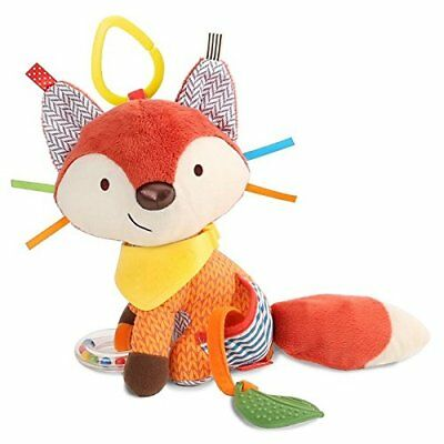 Skip Hop Bandana Buddies Baby Activity Teething Toy Multi-Sensory Rattle Toy FOX