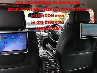 mobile CAR HEADRESTs SCREENs DVD FITTING SPECIALST INSTAL(with SRS modul removal