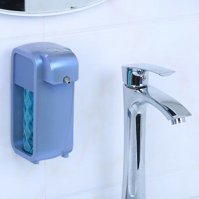 Blue Automatic Touchless Soap Dispenser Countertop/Wall Mounted Convenient