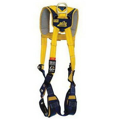 DBI-SALA Delta Safety 1100837 Comfort Vest Style Climbing Harness Fall Arrest XL