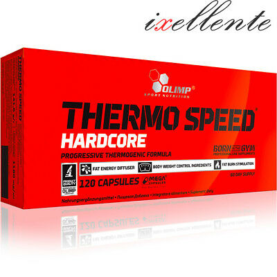 Olimp Thermo Speed Hardcore Strong Fat Burner Weight Loss Slimming Pills