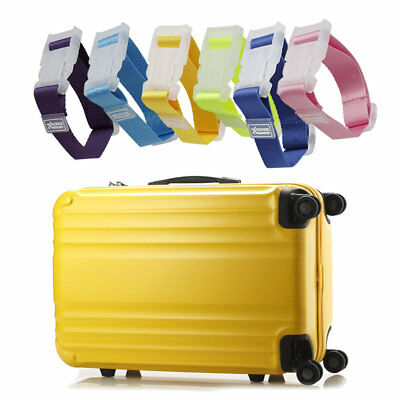 Outdoor Travel Portable Adjustable Luggage Strap Suitcase Packing Belt ES