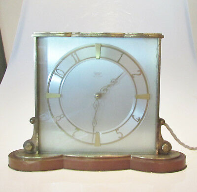 Vintage Smiths Square Art Deco Clock