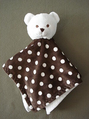 N15 Infant Baby Home Decor Nursery Bean Sprout White Bear Security Blanket