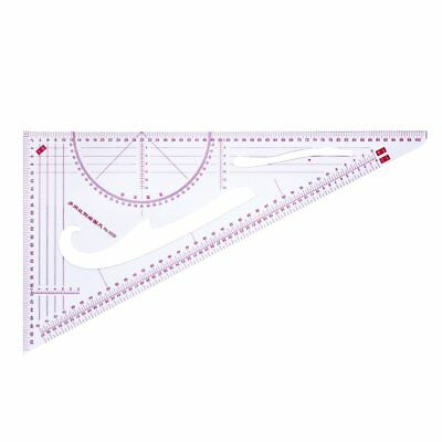 Multi-function Trigonometric Scale Ruler Sewing Feet Yardstick Clear Scale KQ