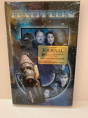 Babylon 5: Journal With Bookmark NEW Sealed 1997 Antioch