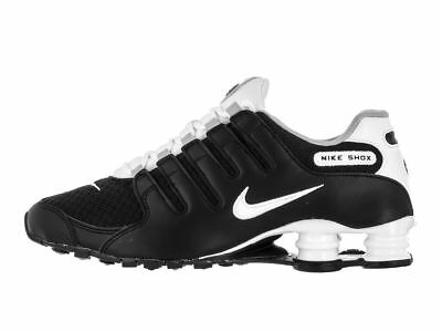 NIKE SHOX NZ SE Men s Running Shoes Wolf Grey Anthracite 833579-005 ... 73431fa41