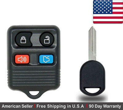 2xBlade Replacement Keyless Remote Shell Case Key FOB for Honda 2+1 Buttons NEW