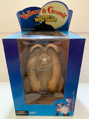 "Wallace & Gromit The Curse Of The Were Rabbit 10"" Action Figure McFarlane MIB"