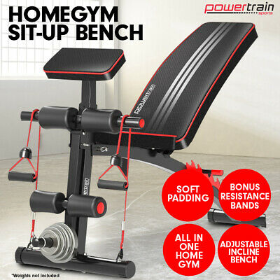 Adjustable Home Gym Bench Press Situp Abs Exercise Incline Weight Decline