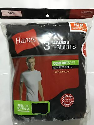 Hanes Mens Pocket T-shirts 3 Pack Colors & Sizes Available Brand New