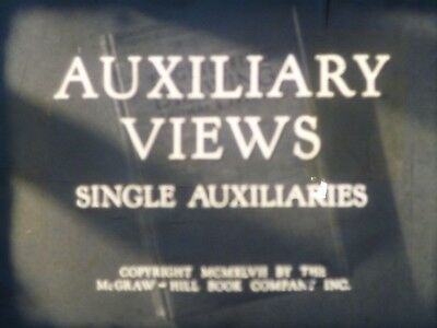 Auxiliary Views: Single Auxiliaries 1947 16mm short film