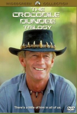 Crocodile Dundee Trilogy  1, 2 & 3  - New Region All DVD