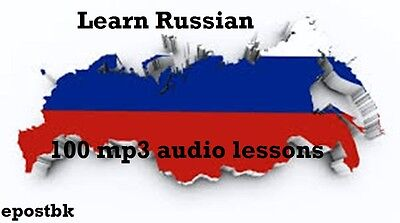 Learn Russian 100 Lessons Audio Book MP3 CD iPod Friendly Russian Download Link