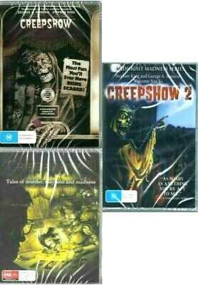 Creepshow 1-2-3 (Trilogy): Stephen King- George Romero - New Region All