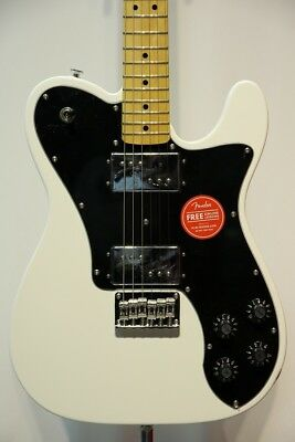 Squier Fender Vintage Modified Telecaster Deluxe Maple Fingerboard, Olympic
