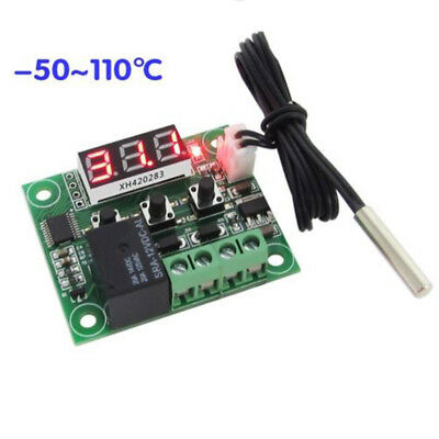 12V Digital Heat Cool Thermostat Temperature Controler Switch Relay&Sensor ~