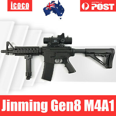 Nylon JinMing 8th Gen8 M4A1 DIY Mag-Fed Water Bullet Gel Ball Blaster Toy AU