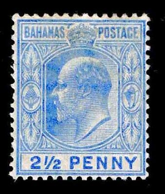 Bahamas Oglh #46 Early Definitive Issue Of 1906 - Vf - $32.50 (Esp#2934)