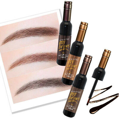 Uk_ Eg_ New Peel-Off Eye Brow Tattoo Tint Dye Gel Eyebrow Cream Long Lasting Won