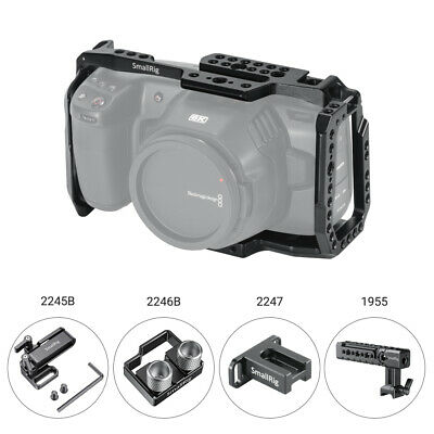SmallRig 2203 BMPCC 4K Cage / Samsung T5 SSD Mount / Lens Mount Adapter Support