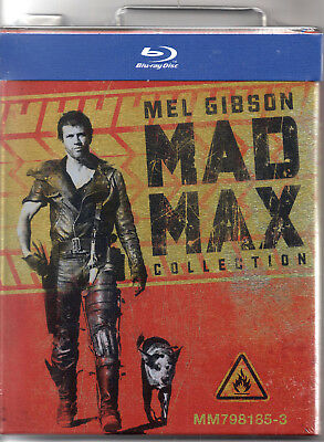 Mad Max Collection - X3 Blu Rays - Limited Edition Gas/Petrol tin Packaging..