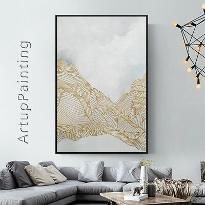 Abstract acrylic painting on canvas original modern art wall art home decor