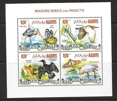 Maldive Islands 2014 Wading Birds & Insects (1)  Mnh