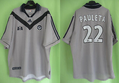 attractive price reasonably priced coupon code MAILLOT GIRONDINS DE Bordeaux Pauleta #22 Adidas Vintage ...