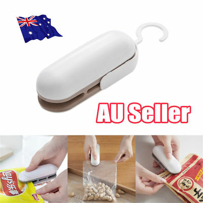 Chip Bag Resealer Portable Mini Package Air Tight Re Sealer Snack Seal Heat UE