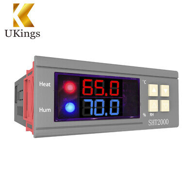 SHT2000 DC 12-72V 10A Temperature & Humidity Hygrometer Thermostat Controller
