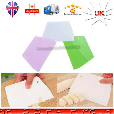 Cookies Pastry Cutter Trapezoid Dough Scraper Spatula Baking Biscuit Cake Tool