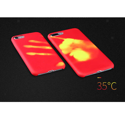 Prettyia Fashional Thermal Sensor Case Compatible for iPhone X/XS/XS Max/XR