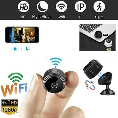 Mini Spy IP Camera Wireless WiFi HD 1080P Hidden Network Monitor Security Cam