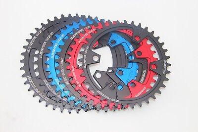 Fouriers BCD96 Circle Chainring Narrow Wide for Shimano XT M8000 for 1x System