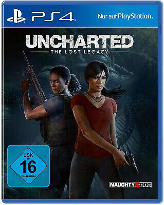 Uncharted: The Lost Legacy Ps4 (Sony PlayStation 4) NEUWARE