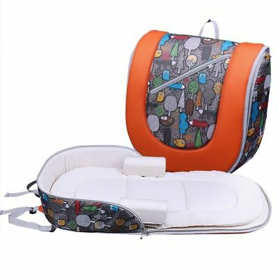 Baby Portable Infant Bed Backpack Crib Maternity Travel Cradle Newborn Nappy Bag