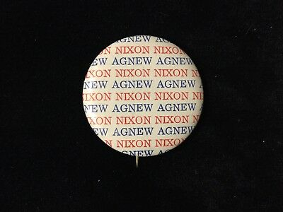 Nixon-Agnew 1 1/4 Inch Button Box 9