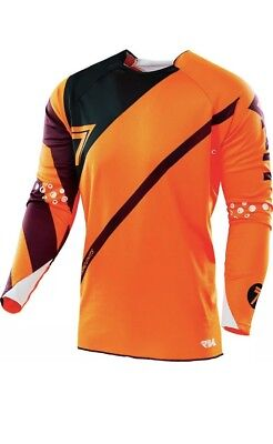 Seven Rival Orange Fuse MX Motocross Jersey Top Motocross MX Kit