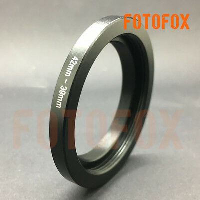 42mm to 39mm 5mm Flange Stepping Step Down Filter Ring Adapter 42-39mm metal DIY
