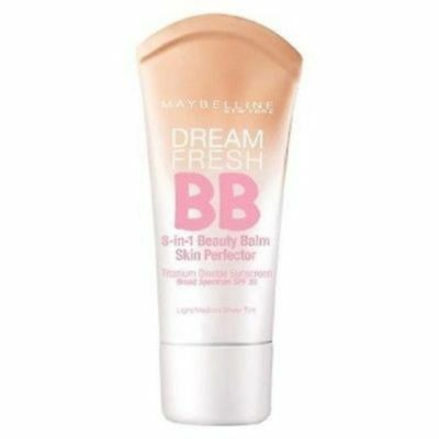 Maybelline Dream Fresh BB Cream 8-in-1 Beauty Balm ~ 110 , 120 OR 130