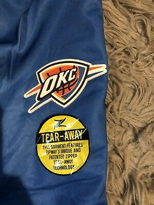 Brand New ZipWay OKC Thunder Tear Away Pants