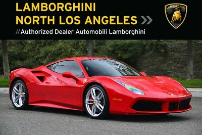 2017 Ferrari 488 GTB  FERRARI* 488GTB*HUGE MSRP CAR!+CARBON FIBRE+RACE SEATS+APPLE CARPLAY+SHIELDS